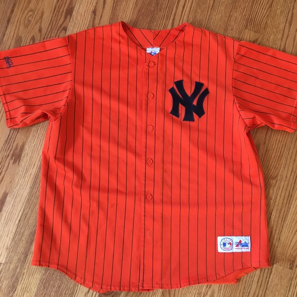 Majestic Shirts Mens New York Yankees Pinstripe Jersey Poshmark